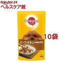 ペディグリー 成犬用 ビーフ&チキン&緑黄色野菜(130g*...
