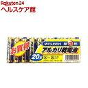 三菱 アルカリ乾電池 単3形 LR6N/...
