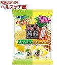 ぷるんと蒟蒻ゼリー グレープフルーツ+パイナップル(12コ入...