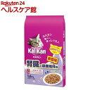 カルカン ドライ 腎臓の健康維持用 お魚ミックス まぐろとかつお味(1.6kg)【カルカン(kal kan)】