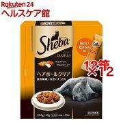 シーバデュオ プラス ヘアボールクリア(200g*12コセット)【シーバ(Sheba)】【送料無料】