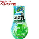 トイレの消臭元 透きとおるクリーンハーブ 芳香消臭剤 トイレ用(400mL)【消臭元】
