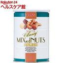 東洋ナッツ食品 食塩無添加 クラッシー ミックスナッツ缶(360g)【トン(ナッツ)】