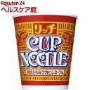 日清カップヌードル リッチ 贅沢とろみフカヒレスープ味(78g 12食入)【カップヌードル】