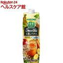 野菜生活100 スムージー豆乳バナナミックス(1000g*6本入)【野菜生活】