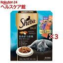 【おまけ付き】シーバ デュオ 旨味がつお味セレクション(240g*3コセット)【シーバ(Sheba)】