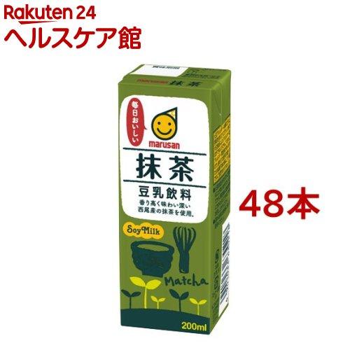 マルサン 豆乳飲料 抹茶(200mL*12本入*2コセット)