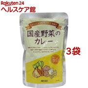 ムソー 国産野菜のカレー 甘口(200g*3コセット)