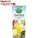 野菜生活100 PeeL&Herb レモン・レモングラスミックス(200mL*12本入)【野菜生活】