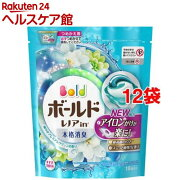 ボールド 洗濯洗剤 ジェルボール3D 爽やかプレミアムクリーンの香り 詰め替え(18コ入*12コセット)【ボールド】
