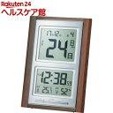 ADESSO(アデッソ) デジタル日めくり電波時計 NA-101(1コ入)【ADESSO(アデッソ)】