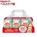 明治ほほえみ らくらくミルク 6缶セット アタッチメント付き(240ml*6缶入)