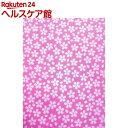ポリジン加工 てぬぐい 桜 21102(1枚入)