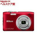 ニコン デジタルカメラ クールピクス A100 レッド(1台)