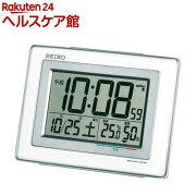 セイコー 電波目覚まし時計 SQ686W(1台)【セイコー】【送料無料】