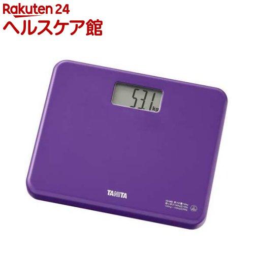 タニタ デジタルヘルスメーター パープル HD-660(PP)(1台)【タニタ(TANITA)】