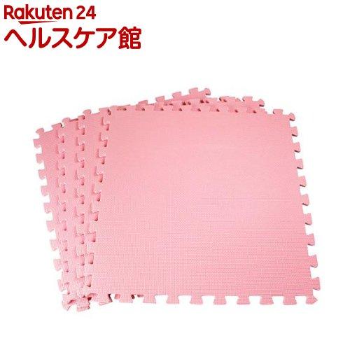 ジョイントマット 大判 EVA 60 ピンク(4枚入)