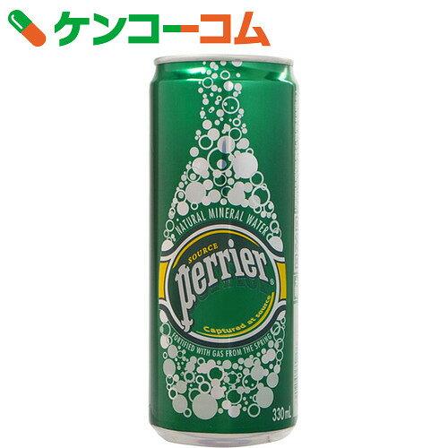 ペリエ 炭酸水 330ml×24缶(並行輸入品)[ケンコーコム ペリエ Perrier 水…...:kenkocom:10538492