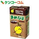 マルサン まめぴよ ココア味 125ml×24本[マルサン 豆乳・豆乳飲料]