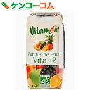 ヴィタモント ミックスジュース 200ml[ヴィタモント フルーツジュース(果汁100%)]