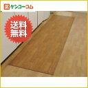 木目調ロングキッチンマット 60×250cm[【HLS_DU】キッチンマット]
