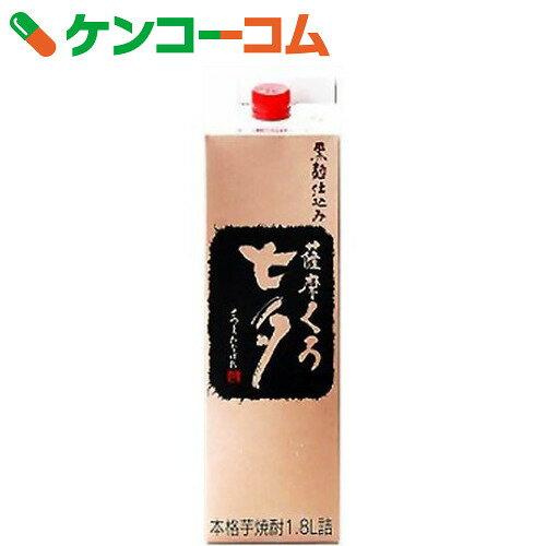 黒七夕パック 芋焼酎 25度 1.8L