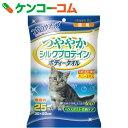 ハッピーペット ボディータオル 猫用 無香料 25枚入[アースバイオケミカル シャンプータオル(猫用)]