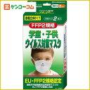 ウイルス対策マスク 学童子供用 2枚入[ウイルス対策マスク]【あす楽対応】【送料無料対象外】