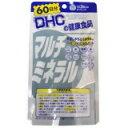 「DHCマルチミネラル60日分180粒」カルシウム、鉄、亜鉛、銅、マグネシウムの栄養機能食品です。DHCマルチミネラル60日分180粒
