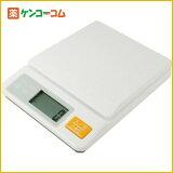 ドリテック デジタルキッチンスケール 2kg ホワイト KS-233WT[【HLSDU】キッチンスケール(デジタル)]【あす楽対応】