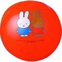 「ミッフィー カラーボール 18-16 あか」かわいいミッフィーとメラニーのイラスト入りの8号ボールです。ミッフィー カラーボール 18-16 あか