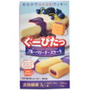 ぐーぴたっクッキーブルーベリーチーズケーキ3本入[ぐーぴたっこんにゃく菓子ケンコーコム]