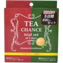 「TEA CHANCE トライアルセット レモンティーの香り (ノンシリコンシャンプー)」シャンプーとコンディショナーのお試し5回分のセットです。TEA CHANCE トライアルセット レモンティーの香り (ノンシリコンシャンプー)