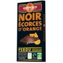 「アルテル エコ オーガニック チョコレート ノワール オランジュ 100g」乳化剤を使用していない100%ナチュラルなオーガニックチョコレートです。アルテル エコ オーガニック チョコレート ノワール オランジュ 100g