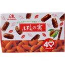 「森永 小枝の実 58g」チョコ・パフ・ナッツの味わいと軽快な食感が楽しめるチョコレート菓子です。森永 小枝の実 58g