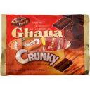 「ロッテ ガーナ&クランキー シェアパック 161g」ガーナとクランキーのチョコレート菓子パックです。ロッテ ガーナ&クランキー シェアパック 161g