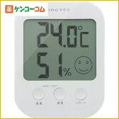 ドリテック デジタル温湿度計 オプシス ホワイト O-230WT[ドリテック 温度計 デジタル温湿度計]【あす楽対応】