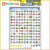 デビカ 世界の国旗シール 194カ国[デビカ キッズ用学習玩具]【あす楽対応】