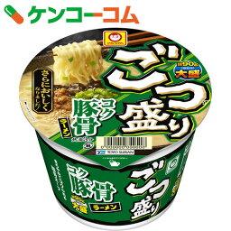 ごつ盛り コク豚骨ラーメン 115g×12個[マルちゃん カップ麺]【送料無料】