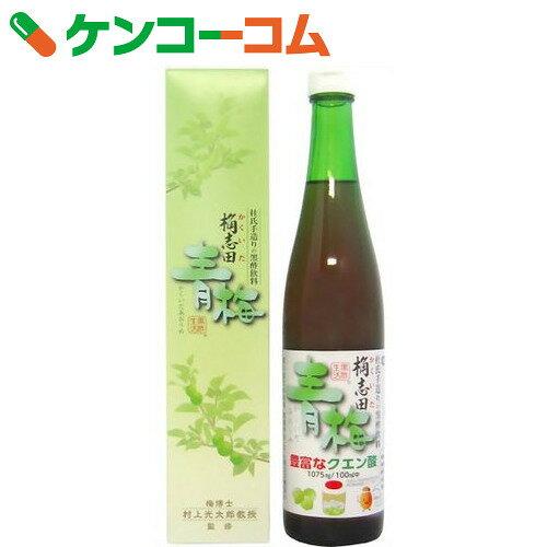 桷志田 青梅 黒酢飲料 500ml