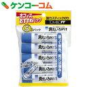 トンボ鉛筆 スティックのり 消えいろピットS 5コパック HCA-513[のり(文具)]【あす楽対応】