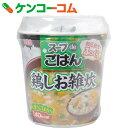 スープdeごはん 鶏しお雑炊 70.3g×6個[丸美屋 カップ雑炊]【あす楽対応】