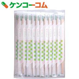 ポリ完封箸 桜柄 100膳[割箸]【あす楽対応】