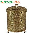 ユーパワー ガーリーロザ トラッシュボックス GR-03524 アンティークゴールド[ユーパワー ゴミ箱]【送料無料】