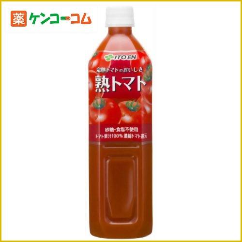 伊藤園 熟トマト 無塩 900g×12本