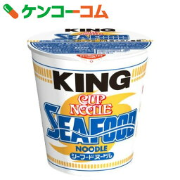 日清 カップヌードル シーフードヌードルキング 128g×12個[カップヌードル カップラーメン(カップ麺)]【送料無料】