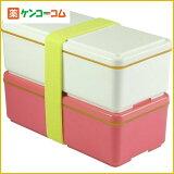 GEL-COOL 保冷剤一体型ランチボックス スタンダードシリーズ ピンク W[ジェルクール 保冷ランチボックス お弁当箱]【対象外】
