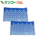 Pocket Cool 手のひらサイズの保冷剤 KIRIKO花 2個セット[Pocket Cool(ポケットクール) 快適グッズ 夏用 保冷剤]【あす楽対応】