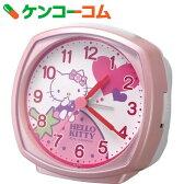 リズム時計 キャラクタークロック ハローキティ ピンク 4RA478-M13[リズム時計 目覚まし時計]【送料無料】