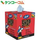 SCOTT ショップタオル ブルーBOX 200カット 65920[SCOTT 潤滑油・サビ止めオイル]